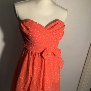 Delias strapless dress- Size 3/4